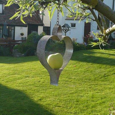 Fallen Fruits Heart Bird Feeder