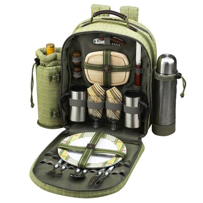 Picnic At Ascot Hamptons Coffee/Picnic Backpack for Two