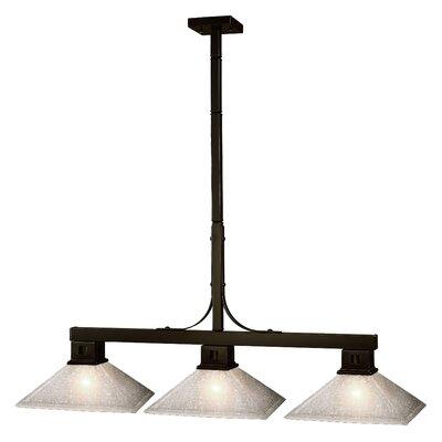 Z-Lite Flatwater 3 Light Pool Table Light