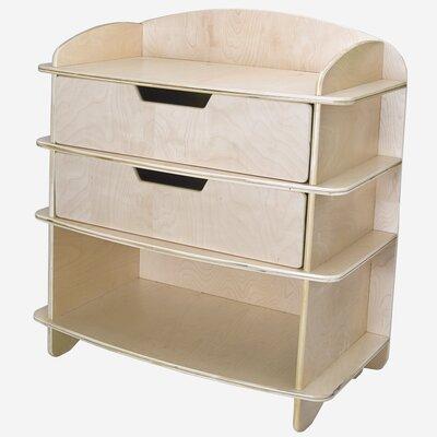 Aero Changing Dresser Color: Blonde