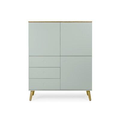 Dot Cabinet Color: Sage / Oak