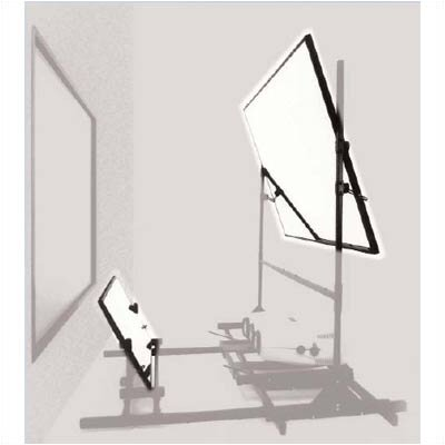 """Glass beaded Portable Projection Screen Size: 60"""" H x 84"""" W"""