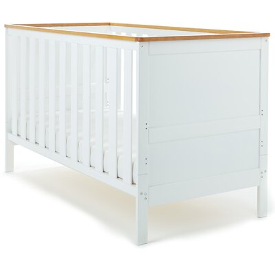 Obaby Newark 2-in-1 Convertible Cot with Mattress