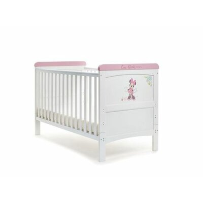 Obaby Disney Minnie Mouse Deluxe 2-in-1 Convertible Cot