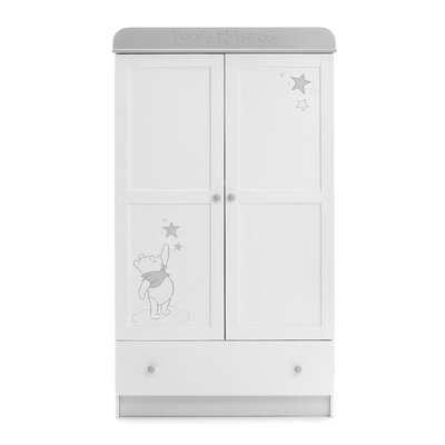 Obaby Winnie the Pooh Dreams and Wishes 2 Door Wardrobe