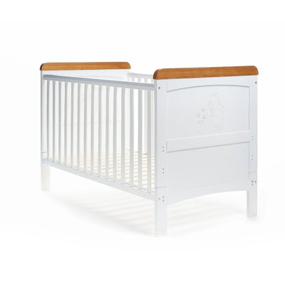 Obaby Disney Winnie the Pooh Deluxe 2-in-1 Convertible Cot