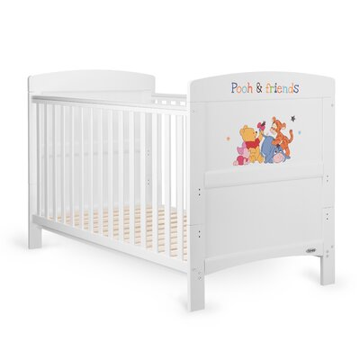 Obaby Disney Winnie the Pooh and Friends 2-in-1 Convertible Cot