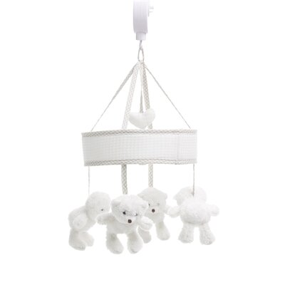 Obaby B is for Bear Musical Mobile in White