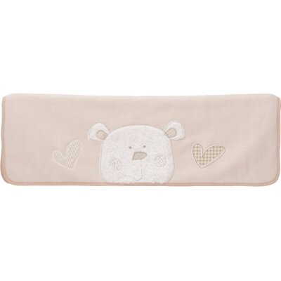 Obaby B is for Bear Fleece Blanket in Cream