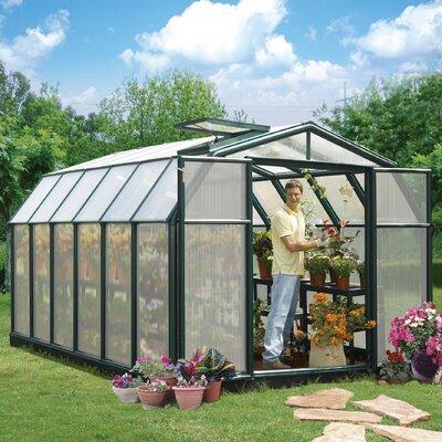 Hobby Gardener 2 Twin Wall 8 Ft. W x 12 Ft. D Greenhouse