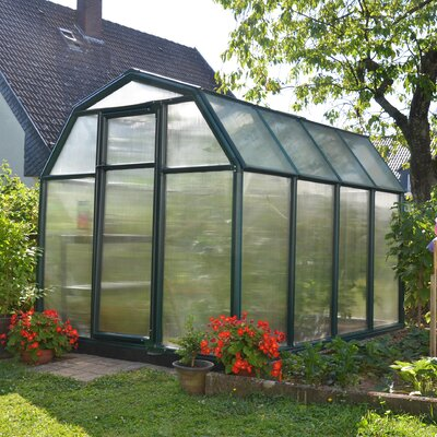 EcoGrow 2 Twin Wall 6 Ft. W x 8 Ft. D Greenhouse