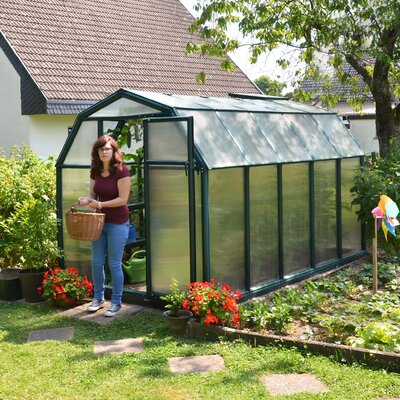 EcoGrow 2 Twin Wall 6 Ft. W x 10 Ft. D Greenhouse