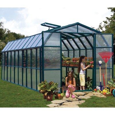 Grand Gardener 2 Twin Wall 8 Ft. W x 20 Ft. D Greenhouse