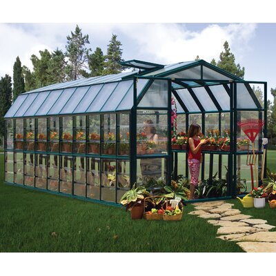 Grand Gardener 2 Clear 8 Ft. W x 20 Ft. D Greenhouse