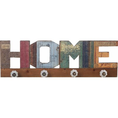 Ketaki Eclectic Home Sign Wall Hook