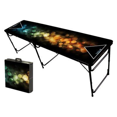 Party Pong Tables Bubbles Folding and Portable Beer Pong Table