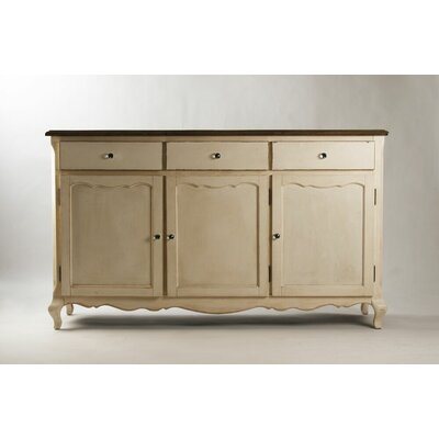 Joceline 3 Door Accent Cabinet