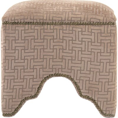Willem Cubic Stool Color: Brown