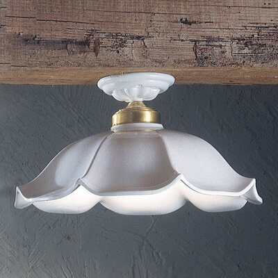 Ferroluce Belluno 1 Light Ceiling Light
