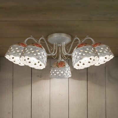 Ferroluce Verona 5 Light Ceiling Light