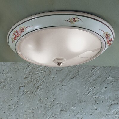 Ferroluce Capua 1 Light Ceiling Light