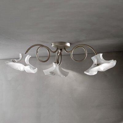 Ferroluce Lecco 3 Light Ceiling Light