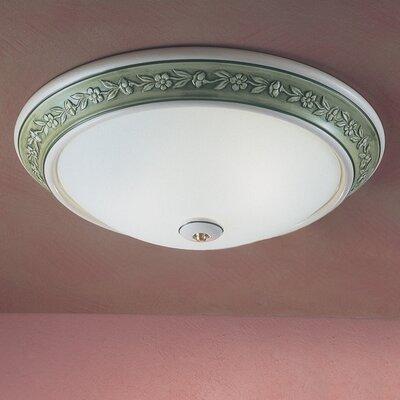 Ferroluce Capua 2 Light Ceiling Light