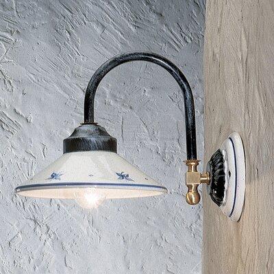Ferroluce Asti 1 Light Semi Flush Light