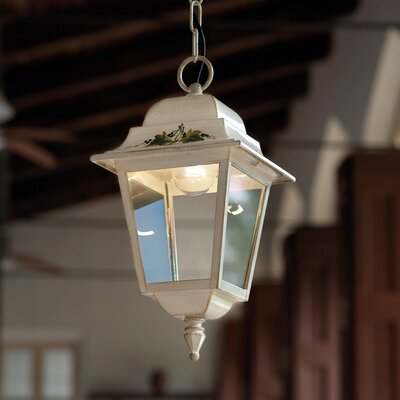 Ferroluce Gorizia 1 Light Outdoor Pendant Lamp