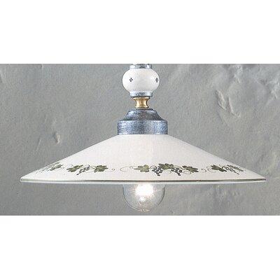 Ferroluce Pompei 1 Light Bowl Pendant Lamp