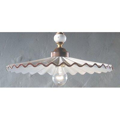 Ferroluce L'aquila1 Light Bowl Pendant
