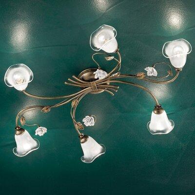 Ferroluce Siena 6 Light Ceiling Light