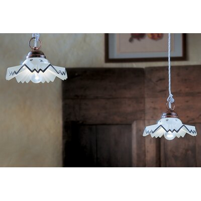 Ferroluce Cortina 2 Light Geometric Pendant