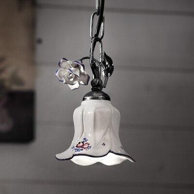 Ferroluce Pisa 1 Light Mini Pendant Lamp