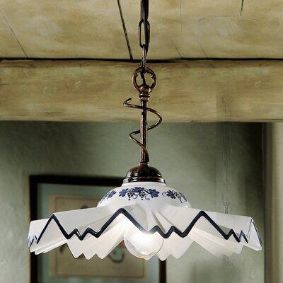 Ferroluce Cortina1 Light Bowl Pendant