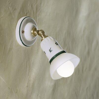 Ferroluce Treviso 1 Light Wall Spotlight