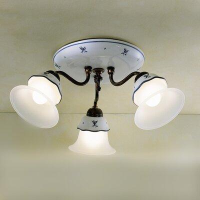 Ferroluce Ferrara 3 Light Ceiling Light