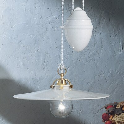 Ferroluce Asti 1 Light Geometric Pendant