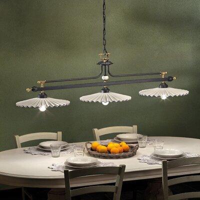 Ferroluce L'aquila 3 Light Bowl Pendant Lamp