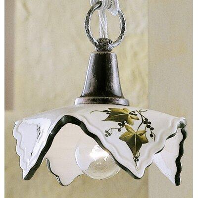 Ferroluce Trento 1 Light Mini Pendant Lamp