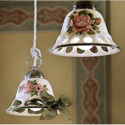 Ferroluce Napoli 1 Light Mini Pendant Lamp