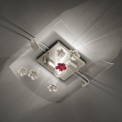 Ferroluce Recanati 2 Light Ceiling Light
