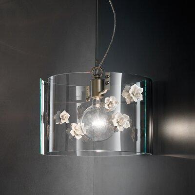 Ferroluce Recanati 1 Light Design Pendant Lamp