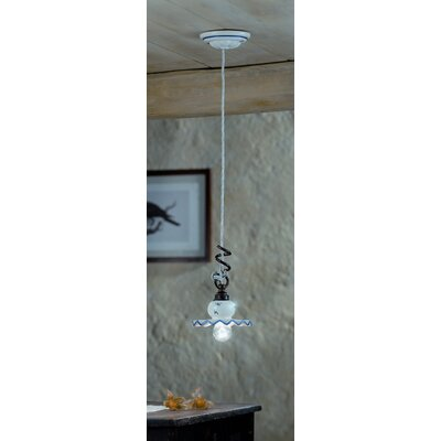 Ferroluce Roma 1 Light Mini Pendant