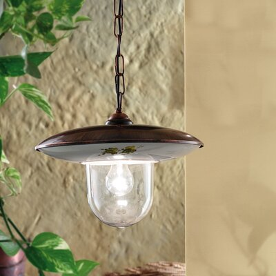 Ferroluce Latina 1 Light Mini Pendant Lamp
