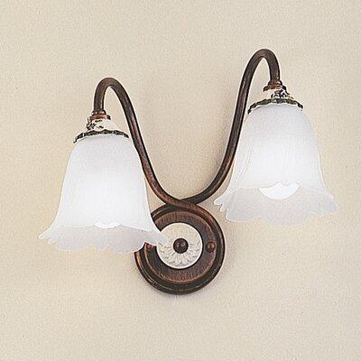 Ferroluce Vincenza 2 Light Wall Light