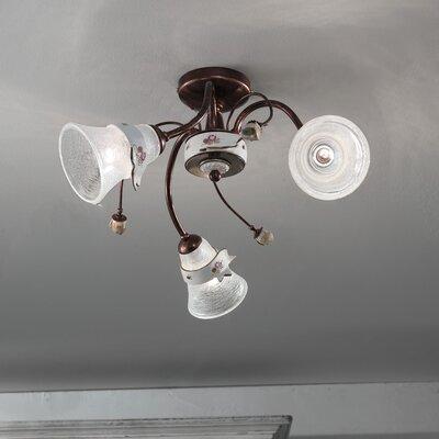 Ferroluce Venezia 3 Light Ceiling Light