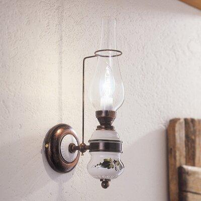 Ferroluce Pompei 1 Light Wall Sconce