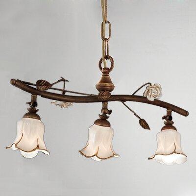 Ferroluce Firenze 3 Light Bar Pendant Lamp