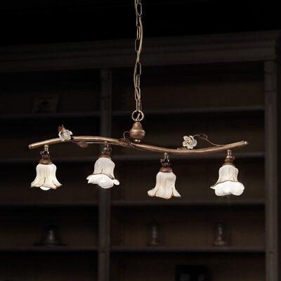 Ferroluce Firenze 4 Light Bar Pendant Lamp